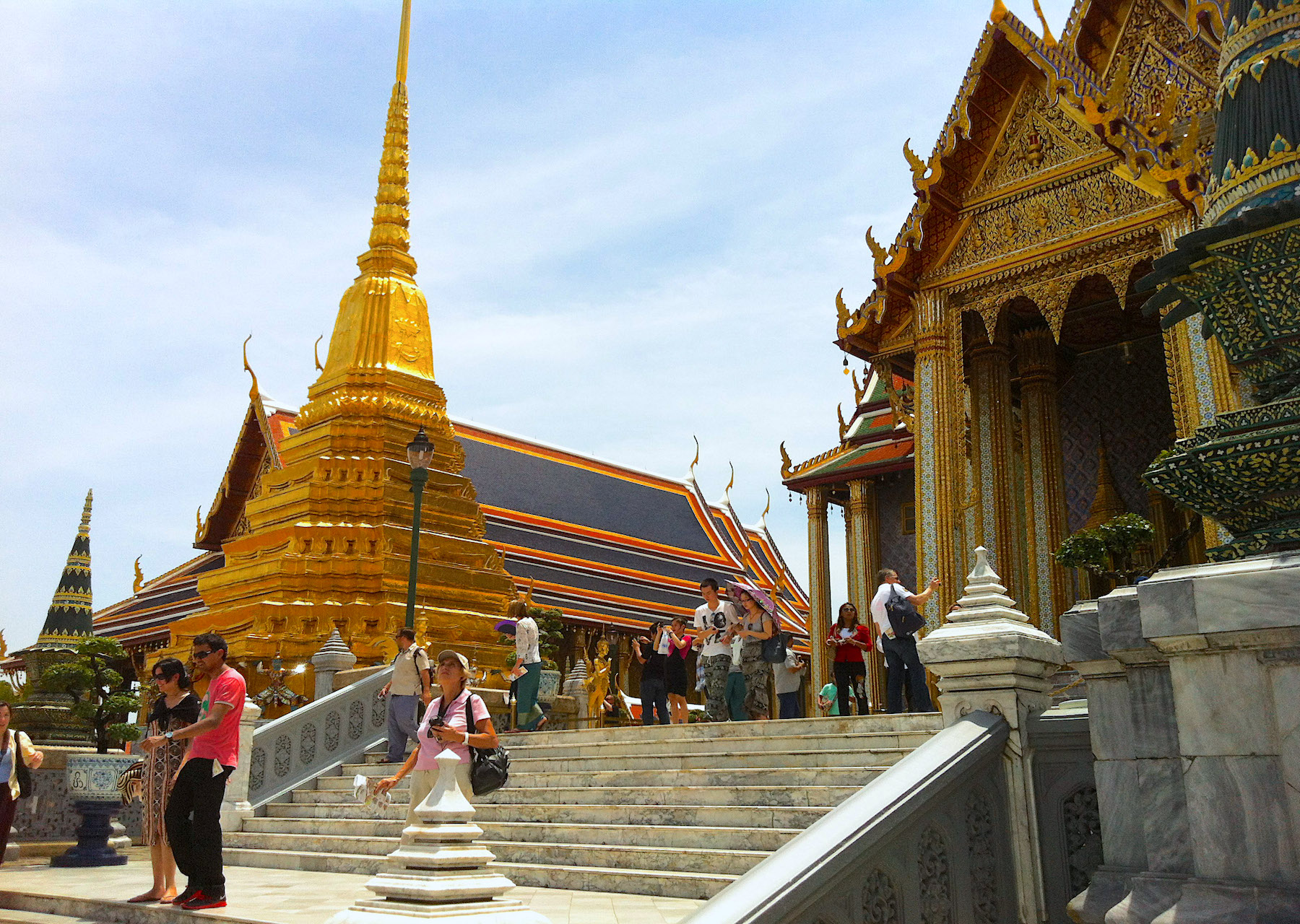 Wat Phra Kaew (Temple of Emerald Buddha) in Bangkok